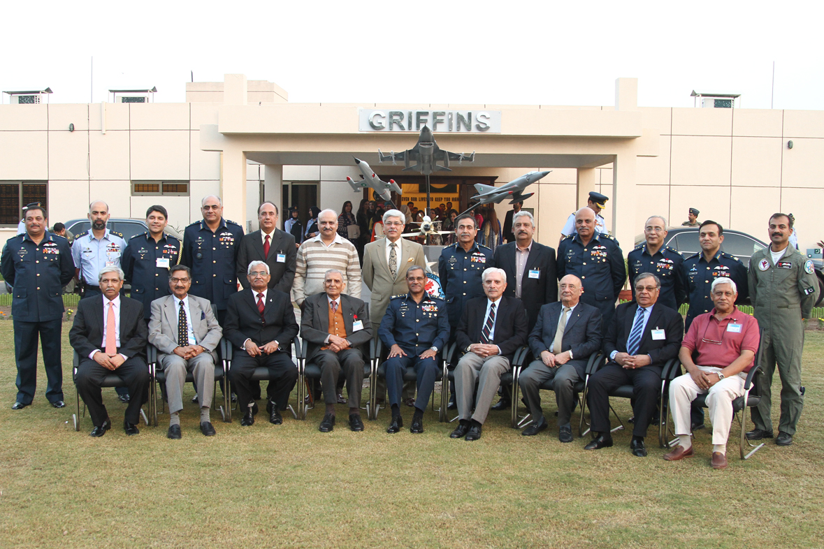 No 9 Sqn Veterans Griffins Reunion Ceremony at Mushaf